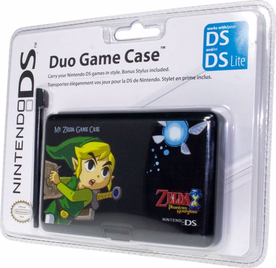 Picture of Zelda Duo Game Case -pudełko na gry + stylus